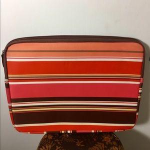 Handbags - Jack!e Stripe colorful Laptop Bag